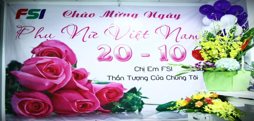 Welcome to Vietnam women's day 20-10