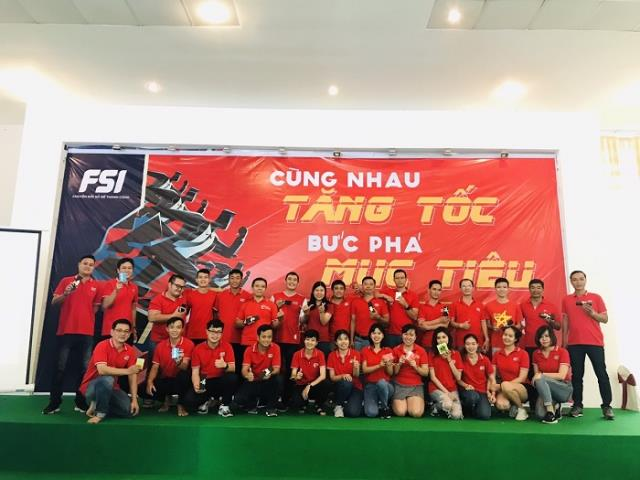 "Teambuilding ""Speeding together - Breaking goals"" by FSI Ho Chi Minh Branch"